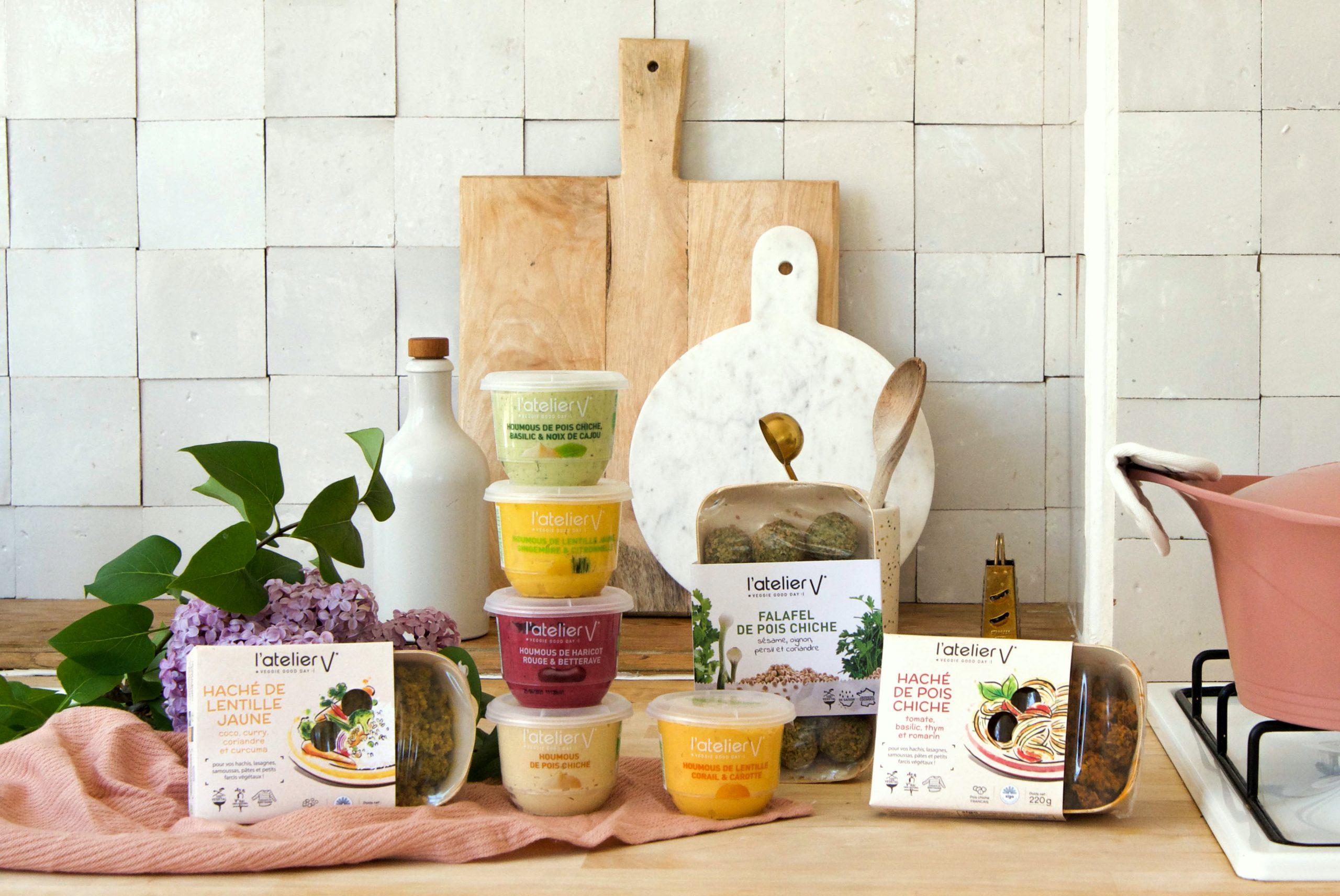 Des produits Veggie et Gourmands